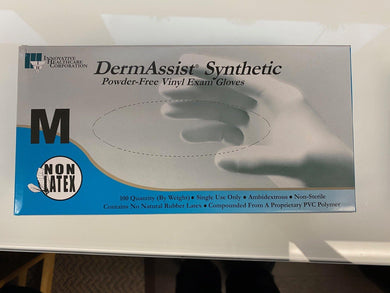 1 Box of a 100 Vinyl Non-Sterile Gloves Powder Free Small Medium Large XLarge - Footit Medical, CPAP, Stairlift, Orthotic, Prosthetic, & Mobility Supply