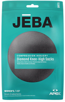 Jeba Knee-High Compression Socks Women's Diamond - USA Medical Supply