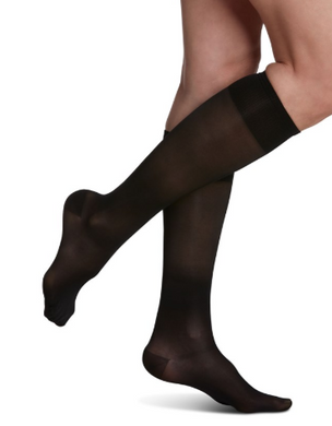 120 Sheer Fashion Calf Length for Women 15-20mmHg - USA Medical Supply