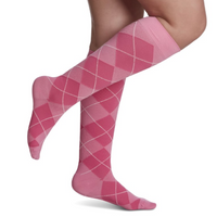 143 Microfiber Shades for Women by Sigvaris Knee High Calf Compression Stockings 15-20mmHg