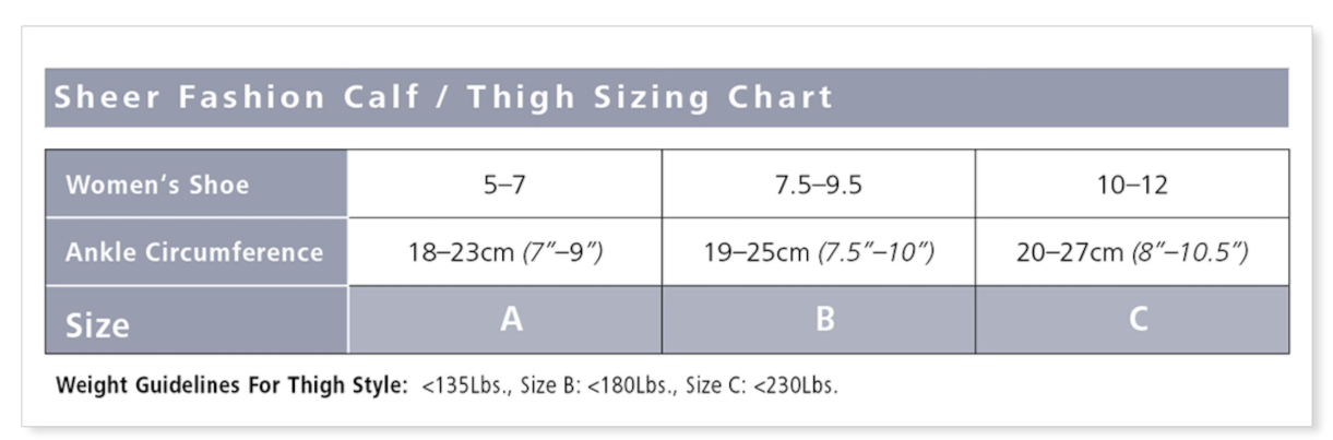 120 Sheer Fashion Thigh-High for Women 15-20mmHg