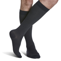 183 Microfiber Shades for Men by Sigvaris Knee High Calf Compression Stockings 15-20mmHg - USA Medical Supply