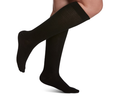 146 Casual COTTON for Women by Sigvaris Knee High Calf Compression Stockings 15-20mmHg - USA Medical Supply