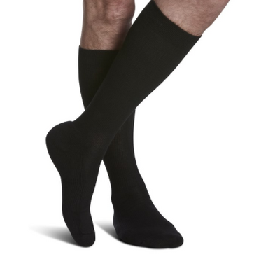 182 Cushioned COTTON for Men by Sigvaris Knee High Calf Compression Stockings 15-20mmHg - USA Medical Supply