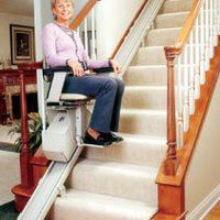 Refurbished Bruno Electra Ride II 1550 Stairlift - Footit Medical, CPAP, Stairlift, Orthotic, Prosthetic, & Mobility Supply