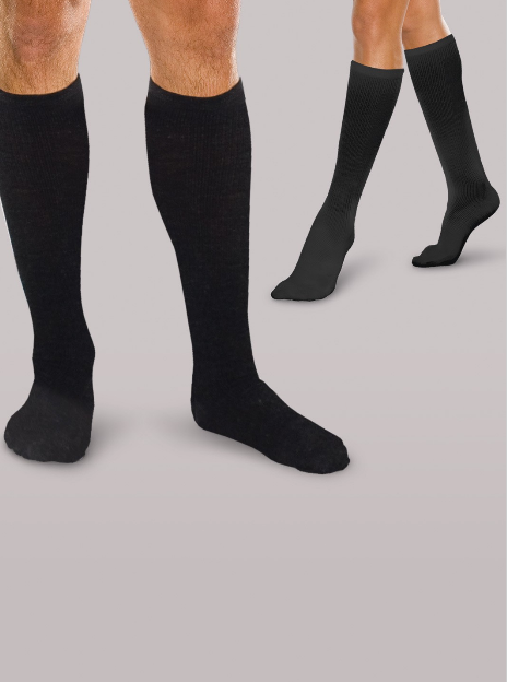 Core Spun Gradient Compression Support Socks - Footit Medical, CPAP, Stairlift, Orthotic, Prosthetic, & Mobility Supply