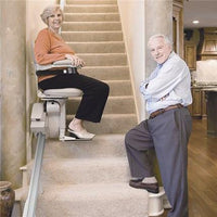 Bruno SRE-2010 Indoor Elite Stairlift Heavy Duty 400lbs Capacity - Footit Medical, CPAP, Stairlift, Orthotic, Prosthetic, & Mobility Supply