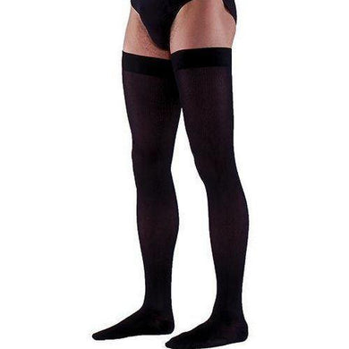 232 SEA ISLAND COTTON FOR MEN by Sigvaris Closed Toe Thigh High Compression Stockings - Footit Medical, CPAP, Stairlift, Orthotic, Prosthetic, & Mobility Supply