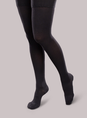 Ease Opaque Thigh Highs Women - Footit Medical, CPAP, Stairlift, Orthotic, Prosthetic, & Mobility Supply