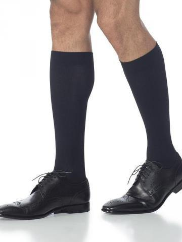 821 Midtown Microfiber Men's Compression Stockings Knee High & Thigh High Standard Grip Calf by Sigvaris 15-20mmHg - Footit Medical, CPAP, Stairlift, Orthotic, Prosthetic, & Mobility Supply