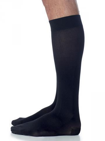820 Midtown Microfiber Men's Compression Stockings Knee High & Thigh High Calf Grip Top by Sigvaris 20-30mmHg - Footit Medical, CPAP, Stairlift, Orthotic, Prosthetic, & Mobility Supply