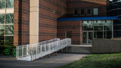EZ Access Commercial Handicap Ramp Configuration Pricing & Installation ADA Compliant - Footit Medical, CPAP, Stairlift, Orthotic, Prosthetic, & Mobility Supply