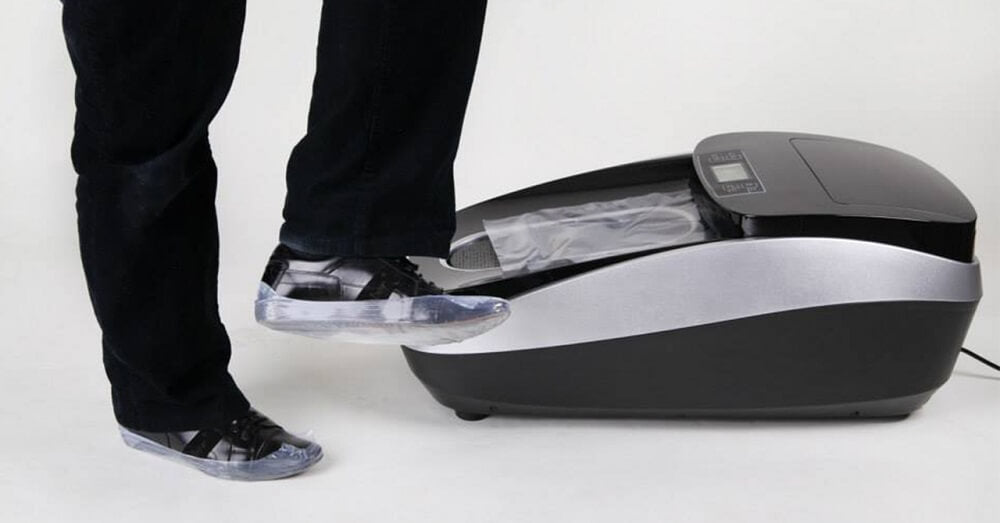 An Innovative Shoe Protector Device- CLEANSTEP XTC