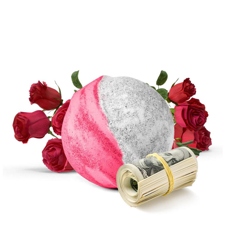 LGBTQ Fresh Cut Roses Cash Bath Bomb