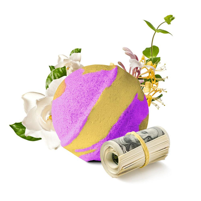 LGBTQ Honeysuckle Gardenia Cash Bath Bomb