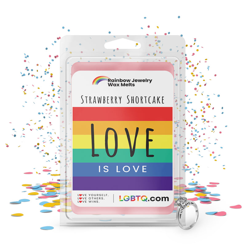 LGBTQ Strawberry Shortcake Rainbow Jewelry Wax Melts
