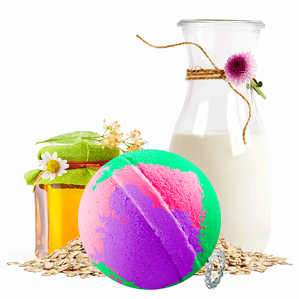 LGBTQ Spa Bomb Jewelry Bath Bomb