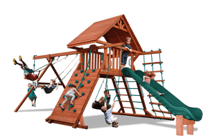 Turbo Original Playcenter Combo 2 with Wood Roof (19B)