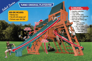 Turbo Original Playcenter Combo 4 Bonanza (19F)