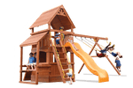 Load image into Gallery viewer, Deluxe Fort Hangout (21D) - River City Play Systems