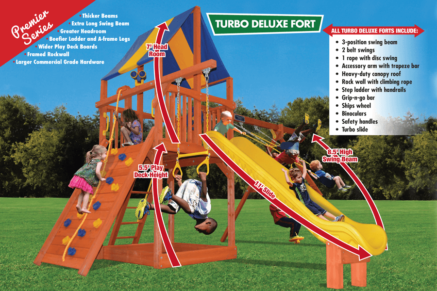 Turbo Deluxe Fort Combo 2 (24A)