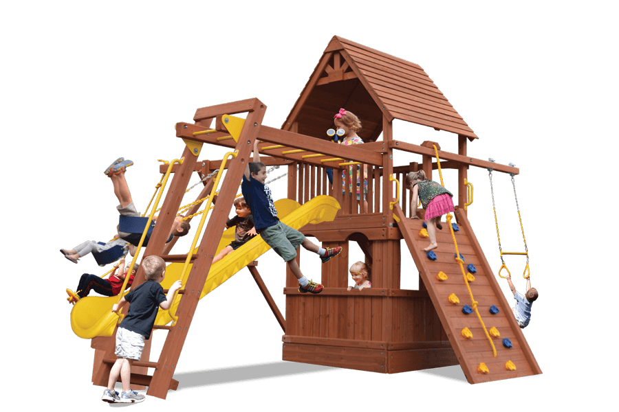 Turbo Deluxe Fort Combo 3 with Playhouse (25C)