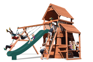 Supreme Fort Hangout (29D) - River City Play Systems