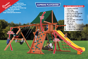 Supreme Playcenter Combo 2 (31A) - River City Play Systems