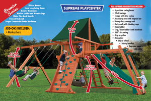 Supreme Playcenter Combo 3 (31D) - River City Play Systems