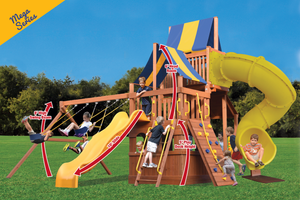 Original Fort High Roller (37B) - River City Play Systems