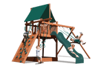 Load image into Gallery viewer, Deluxe Fort with 2 Position Swing Beam (41C) - River City Play Systems