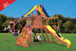 Load image into Gallery viewer, Original Playcenter with 2 Position Swing Beam (41E) - River City Play Systems