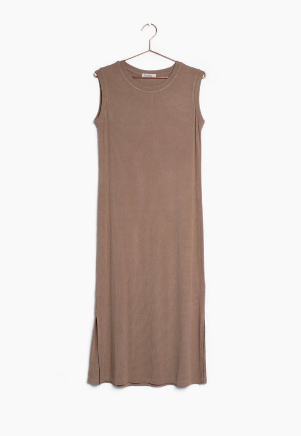 Harlow - Tan Dress