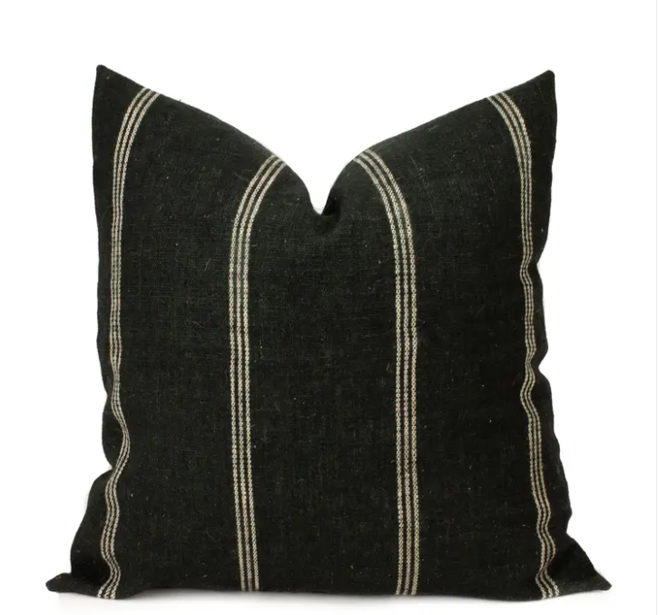 Telluride Pillow, Black