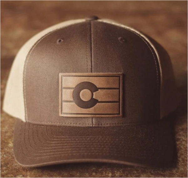 Colorado Flag Hat, Brown