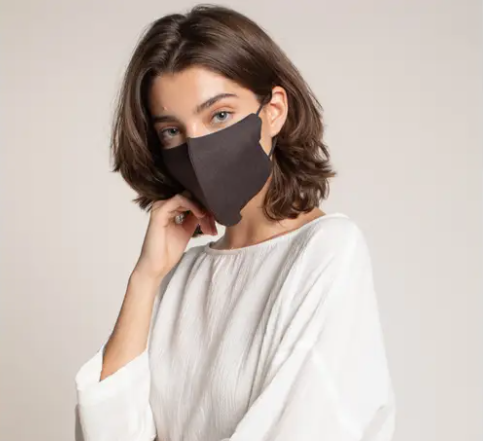 Linen Face Mask, Iron