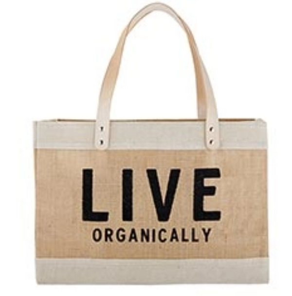 Live Organically Tote
