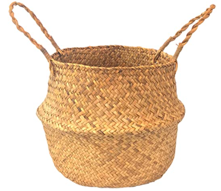 Woven Seagrass Basket