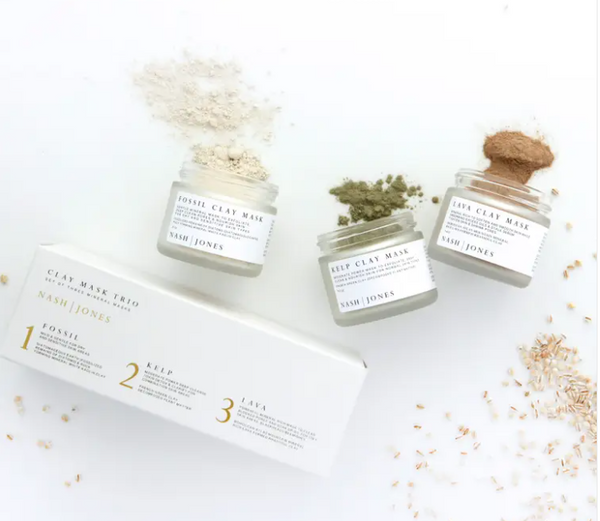 Clay Masks Trio