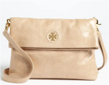 Tory Burch Dena Crossbody Bag, Light Tan