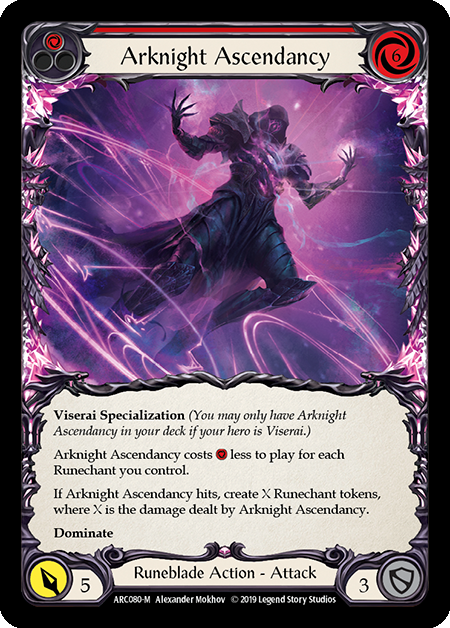 Arknight Ascendancy - Rainbow Foil