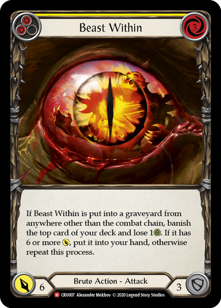 Beast Within - Rainbow Foil