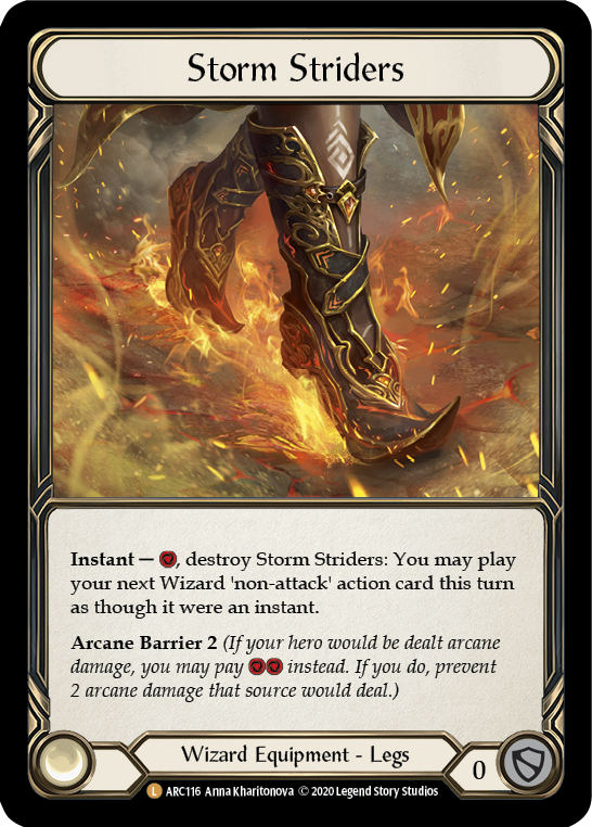 Storm Striders: Rainbow Foil [Unl]
