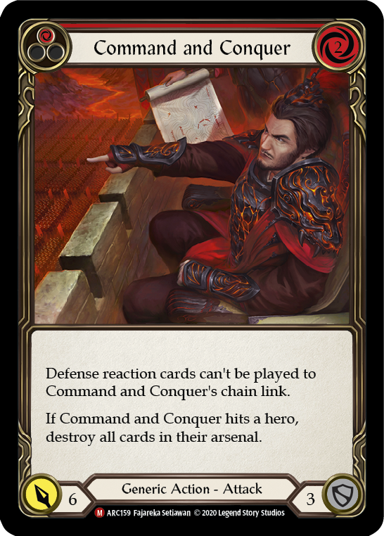Command and Conquer: Rainbow Foil [Unl]