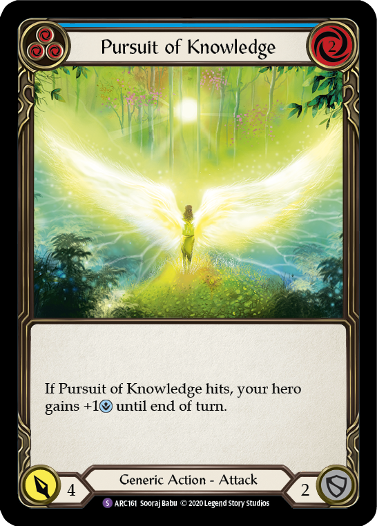 Pursuit of Knowledge: Rainbow Foil [Unl]