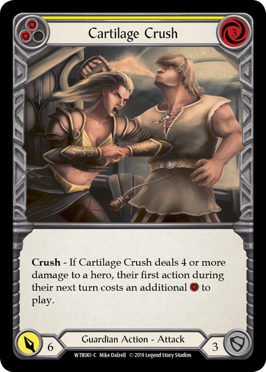 Cartilage Crush (Yellow): Rainbow Foil [Alpha]