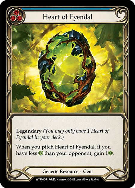 Heart of Fyendal - Cold Foil