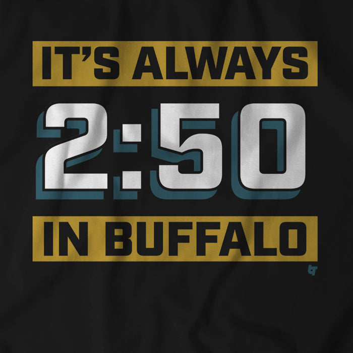 It's Always 2:50 In Buffalo