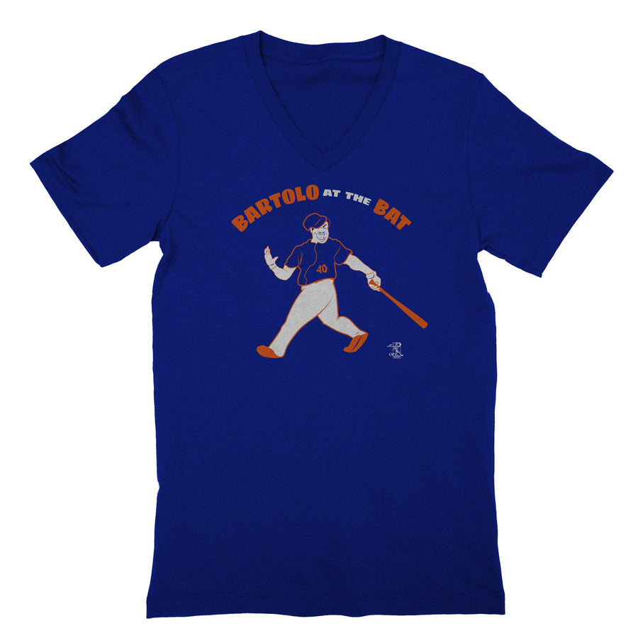 Bartolo at the Bat *Women's Tee* - BreakingT