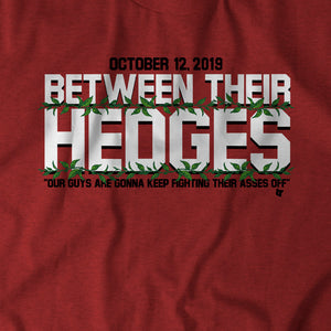 Between Their Hedges
